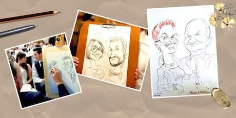Workshop: Grundlagen der Karikatur und Comic Zeichnung mit Arnd Hawlina Tickets