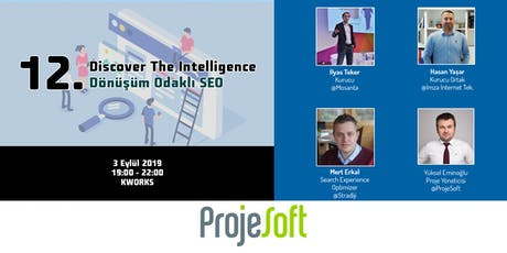 12. Discover The Intelligence - Dönüşüm Odaklı SEO tickets