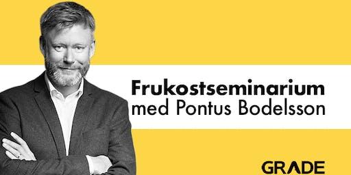 Engagemang för förändring. Misstag för framgång – Pontus Bodelsson