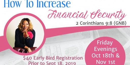 How to Increase Financial Security