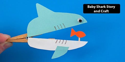 Baby Shark Storytime & Craft