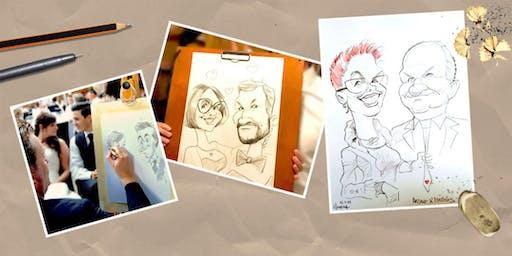 Workshop: Grundlagen der Karikatur und Comic Zeichnung mit Arnd Hawlina