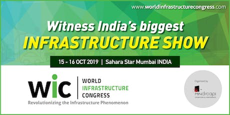World Infrastructure Congress & Awards 2019 tickets
