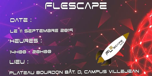 Journée Campus Rennes 2 - Inscription au FLEscape