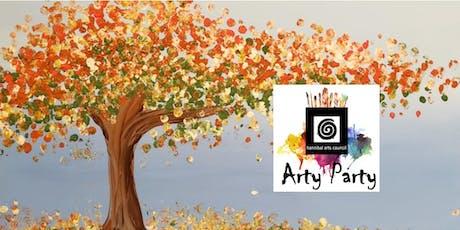 ARTY PARTY:Fall Splatter Tree tickets