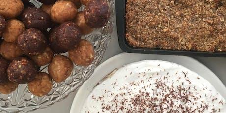 Refined Sugar Free Snacks & Desserts tickets