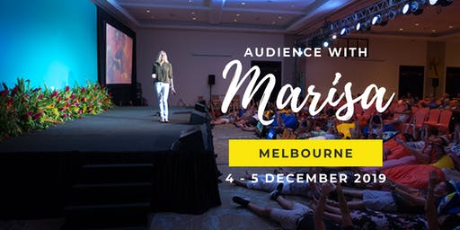 Audience With Marisa AU | Spend Two TRANSFORMATIVE Days With Marisa Peer