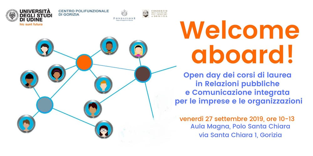 Calendario Uniud.Welcome Aboard Open Day Corsi Di Laurea Gorizia