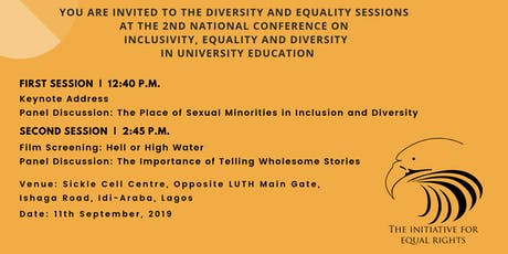 TIERs' Equality and Diversity Sessions at the IED Conference tickets