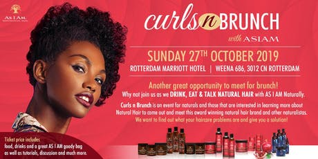 Curls n Brunch with AS I AM Naturally tickets
