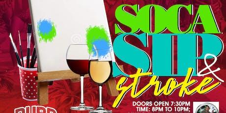 Soca Sip & Stroke tickets