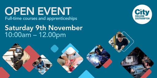 City College Southampton Open Event - 9th November