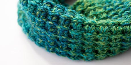 Learn Tunisian Crochet and make a cowl tickets