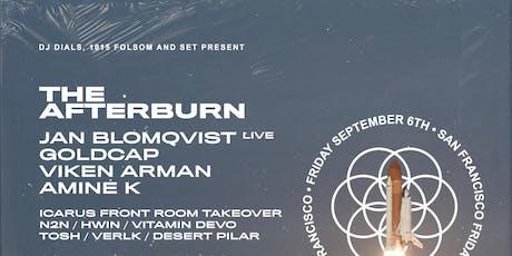 The Afterburn: JAN BLOMQVIST (live), IVY LAB, GOLDCAP  at 1015 FOLSOM tickets