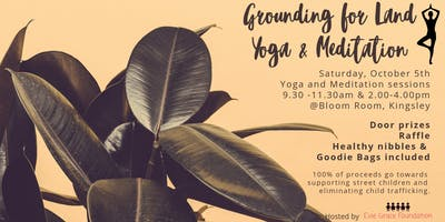 Grounding for Land Yoga & Meditation
