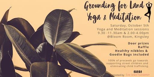 Grounding for Land Yoga & Meditation