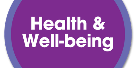 Introduction to Health and Wellbeing tickets