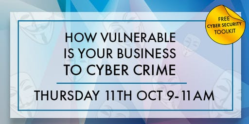 How Vulnerable Is Your Business To Cyber Crime