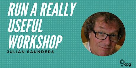 APG Workshop | Run a Really Useful Workshop billets