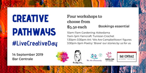 Creative Pathways: #LiveCreativeDay