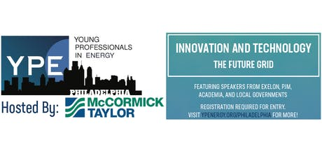 YPE's Discussion Series: Innovation and Technology - The Future Grid tickets