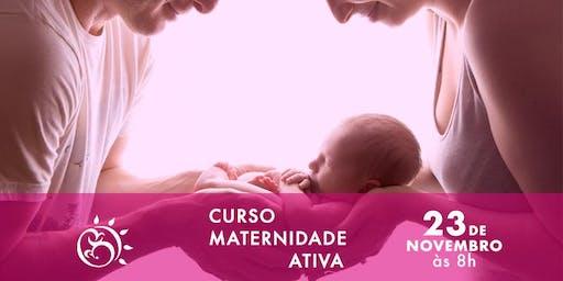 Curso Maternidade Ativa  - Os primeiros cuidados com o bebê
