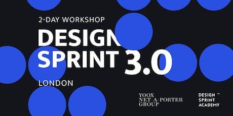 Design Sprint 3.0 - London tickets