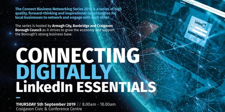 Connect Networking Series: Connecting Digitally – LinkedIn Essentials tickets