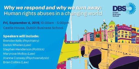 Why we respond and why we turn away:human rights abuses in a changing world tickets