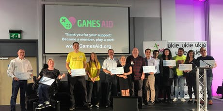 GamesAid Cheque Giving Ceremony 2019 tickets