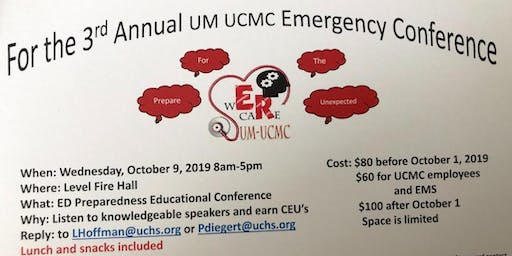 3rd Annual UM UCMC Emergency Conference