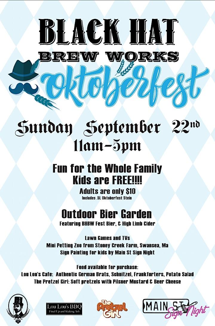 Black Hat Brew Works Oktoberfest image