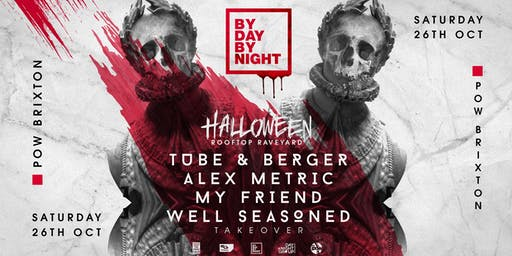 Halloween Rooftop Rave with Tube & Berger,  Alex Metric & more