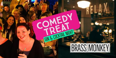 Comedy Treat - Gin & Cocktail Special (Hastings) tickets