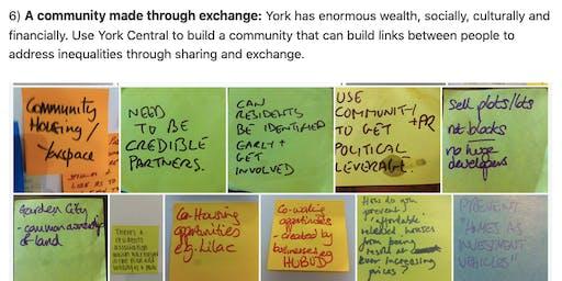 York Design Week: Co-Owned Neighbourhoods on York Central