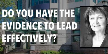 Do You Have the Evidence To Lead Effectively? tickets