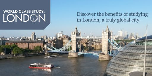 World Class Study in London Information Sessions - New York 2019