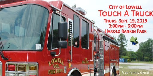 Lowell Touch A Truck