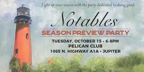 2019 Notables Season Preview Party tickets