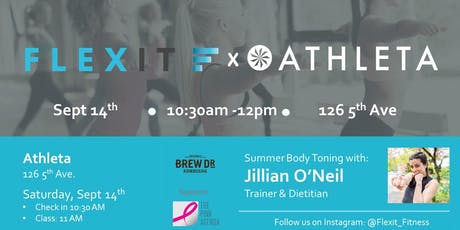 Athleta x FlexIt Round 2:  Body Toning with Jillian O'Neil tickets
