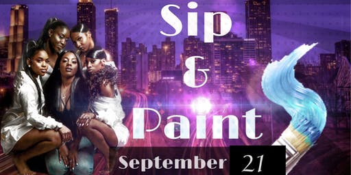 Ladies Night Sip and Paint Atlanta