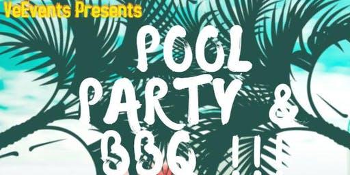 POOL PARTY & BBQ