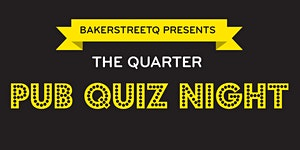 The Quarter Pub Quiz Night, Thursday 17 October 18:00