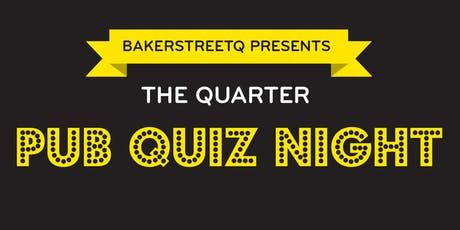 The Quarter Pub Quiz Night, Thursday 17 October 18:00 tickets