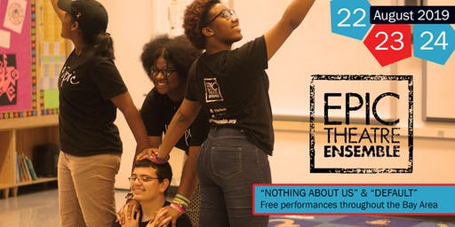 NYC youth theatre group performing two original plays on educational equity