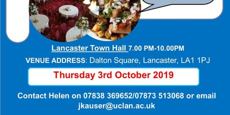 19th Lancaster Annual Dinner tickets