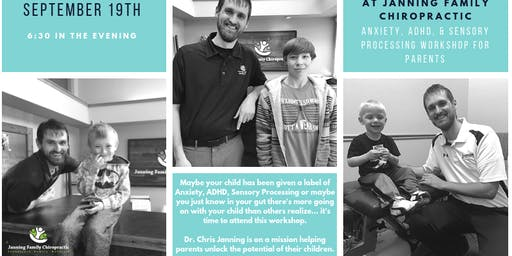 Anxiety, ADHD, & Sensory Processing