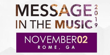 MESSAGE IN THE MUSIC 2019 tickets