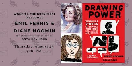 Drawing Power: Emil Ferris & Diane Noomin in conversation w/ Anya Davidson tickets