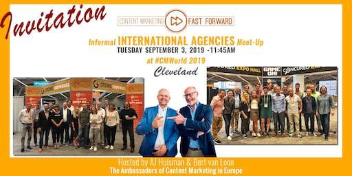 CMFF International Agency Meet-Up @CMWorld